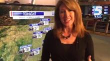 WRAL meteorologist Elizabeth Gardner discusses evening forecast