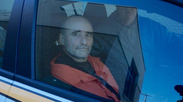 Edward Watson Campbell arrives in Oxford on Jan. 16, 2015, after being extradited from West Virginia to face double murder charges in the Jan. 1, 2015, deaths of Jerome Faulkner and his wife, Dora Faulkner.