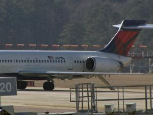A Delta flight from Atlanta to Raleigh-Durham International Airport was evacuated after landing Saturday afternoon due to a bomb threat made on social media, airport officials said.