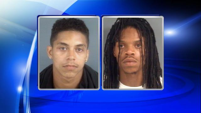 Two men were identified by the Cumberland County Sheriff's Office as suspects in a Thursday shooting and home invasion, the department said Sunday. Jamal Robinson, 20, of 265 Snow Hill Road in Fayetteville, and Malcolm Moore, 24, of 1923 Ireland Drive in Fayetteville, are wanted for attempted murder and other charges related to the home invasion, deputies said.