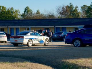 A man's body was found Jan. 19, 2015, in a room at the Raeford Inn, at 8290 Fayetteville Road, in Raeford, Hoke County authorities said.