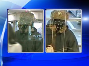 Surveillance photos from a robbery at Bank of America, 8371 Creedmoor Road, Raleigh, on Jan. 14.