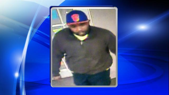 Raleigh police were searching Wednesday for a man who allegedly robbed the Good Luck Sweepstakes in the 3300 block of Capital Boulevard.