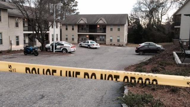 An 18-month-old girl was found dead inside a home at Hunter's Ridge Apartments in Fayetteville Thursday afternoon.