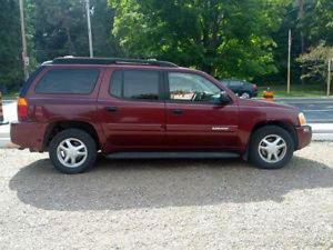 The State Highway Patrol is seeking a burgundy Chevrolet SUV, similar to this one, or a GMC Envoy in conneciton with a Feb. 3, 2015, crash on Interstate 40 in Garner.