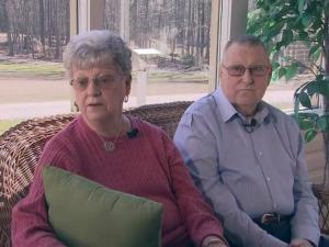 Judy and George Barefoot survived a three-car crash on Interstate 40 in Garner on Feb. 3, 2015, that killed one man.
