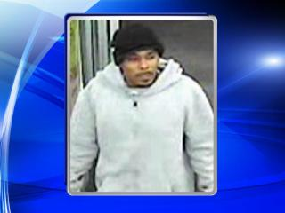 A surveillance photo from Jan. 27, 2015, shows a robbery suspect at the CVS pharmacy at 4309 New Bern Avenue.