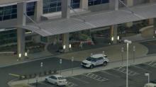 IMAGES: Car crashes into Nash General Hospital