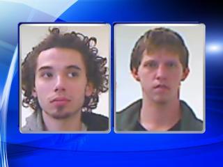Dominic Joseph Misuraca, left, and Bradley Steven Whiting