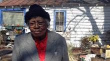 IMAGES: Woman, 88, killed in house fire near Garner