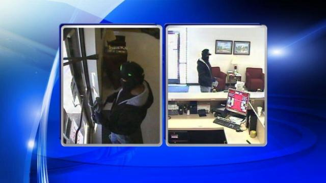 Police are looking for the man they say robbed a BB&T bank branch in Princeton Thursday morning.