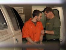 Eric Campbell at Granville jail