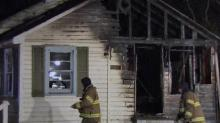 IMAGES: Portable heater sparks Fayetteville house fire; man severely burned