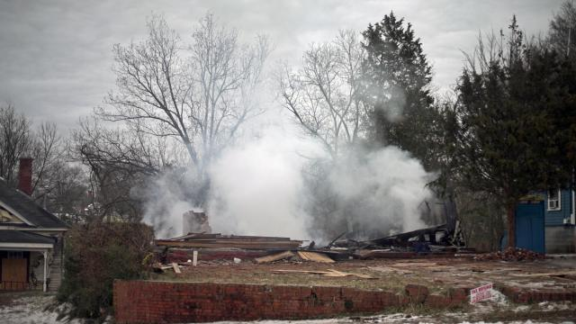Twenty-four firefighters spent about two hours extinguishing a fire early Saturday at a vacant home in the 100 block of South Maple Street, Durham Fire Department officials said.