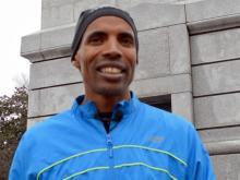 Boston Marathon winner Meb Keflezighi