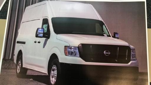 Investigators said men who stole gold bars from two armed guards who had stopped along Interstate 95 in Wilson loaded the bars into a van like the one pictured here.