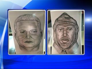 Investigators released composite sketches of two men who stole gold bars from a truck that stopped along Interstate 95 in Wilson on March 1. The first man was described as 40 years old, heavy and spoke Spanish with a Cuban accent. The second was described as a dark-skinned Hispanic male with a white beard and goatee who wore a black hooded jacket and black combat-style boots.