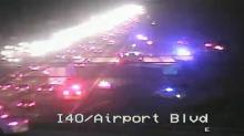 IMAGE: One person shot on I-40 East near RDU