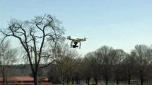IMAGE: Drone hobbyists practice at Dix park