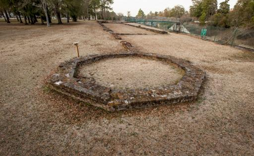 Fayetteville Arsenal ruins