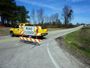 Sampson County authorities closed U.S. Highway 701 south of Clinton on March 12, 2015, after a body and a possible bomb was found in an SUV parked along the side of the road.