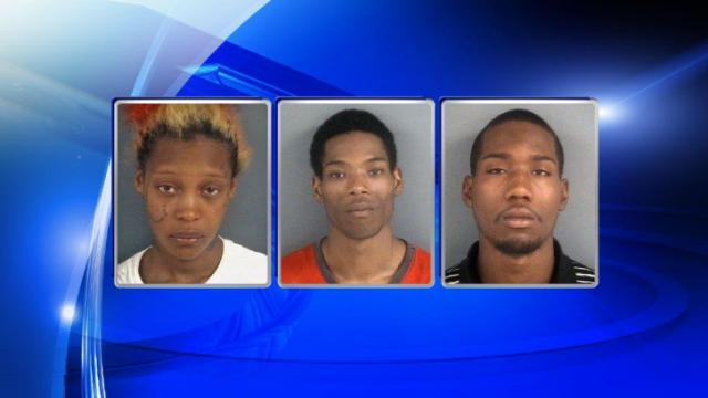 Tracy Williams, 20, Joseph Davis, 23, Samuel Davis, 20