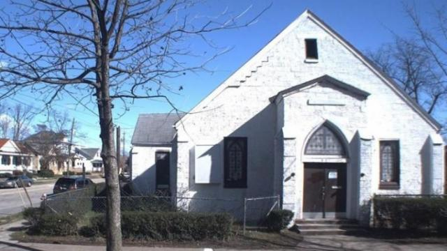 The property at 501 S. Person St. was formerly a Seventh Day Adventist Church.