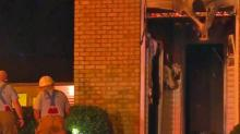IMAGES: Heavy fire, smoke seen at Fayetteville apartment fire