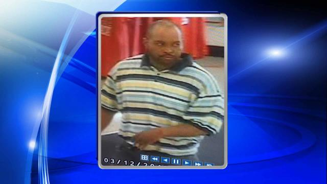 Raleigh police are looking for this man in connection with a report of indecent exposure at Kmart, at 4500 Western Blvd., on March 12, 2015.