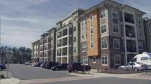 The Bristol at Park Village West complex in Morrisville