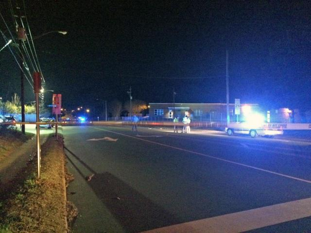 A 60-year-old pedestrian was seriously injured Tuesday night after being hit by a taxi near the intersection of Poole Road and Peyton Street, Raleigh police said.