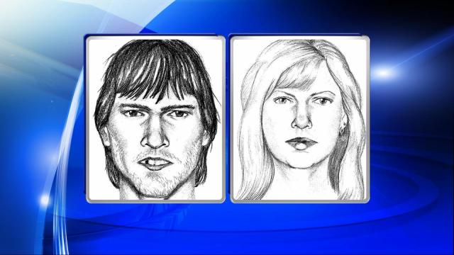 Investigators released composite sketches of two people wanted for a March 9 shooting on a Chatham County road.