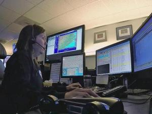 Trying to keep up with continued growth and call volume, the Johnston County 911 center recently upgraded its phone system to replace old copper wires with Internet-based service.