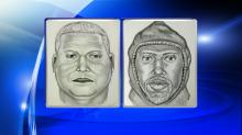 Gold heist FBI composite sketch