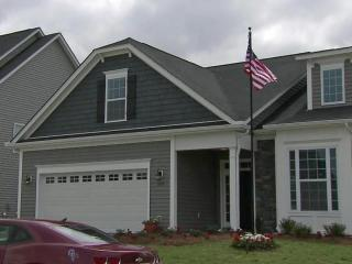 Cpl. Ryan Wightman, who was injured in Afghanistan, received this Fuquay-Varina home from a nonprofit that builds homes for wounded combat veterans.