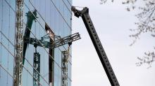 IMAGES: Three companies cited, fined for role in fatal Raleigh scaffolding collapse