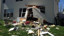 IMAGES: Car crashes through Creedmoor home