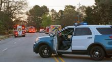 Authorities block Poole Road in Raleigh following house fire
