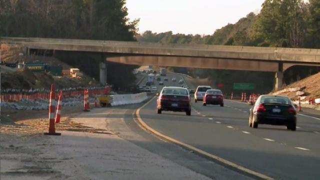 Work on I-440 nearly done in Fortify zone