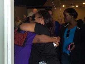 Family and friends gathered Saturday to remember 17-year-old Tierra Hall, whose body was found behind a vacant home in Durham one week ago.
