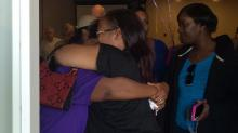 IMAGES: Family, friends gather to remember slain Durham teen