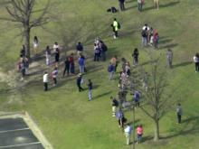 Law enforcement officers flooded the campus of Wayne Community College Monday and locked down buildings as they looked for a shooter.