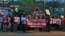 IMAGES: Fast-food workers rally in Durham for higher pay