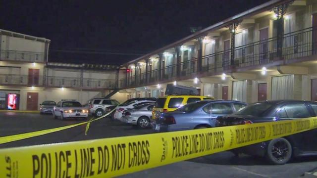 Fayetteville police were investigating Saturday morning after a woman was shot at a hotel on Bragg Boulevard.