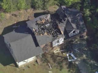 Officials in Fayetteville were investigating Tuesday morning after fires damaged three homes in a neighborhood near the Cape Fear River.