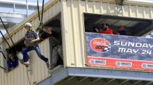 IMAGE: NASCAR's Kahne takes a different kind of ride at Fort Bragg