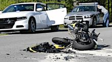 IMAGES: Mower driver charged after motorcyclist killed in Johnston crash
