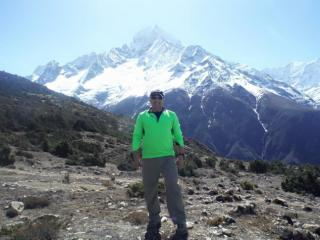 Ron Wahula, a Raleigh man attempting to climb Mt. Everest, arrived in Nepal in early April. Source: Facebook