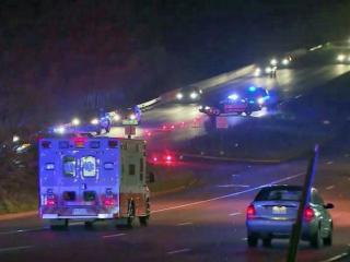 A man was killed Wednesday night after he was hit by a vehicle near WakeMed.