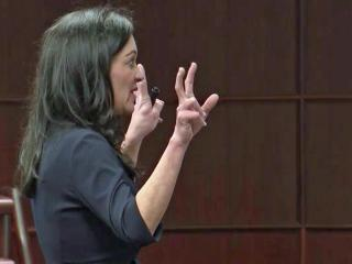 Tricia Derr is the defense attorney for Starbucks in a civil case filed by a Raleigh police officer.